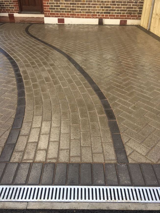 block paving and draining